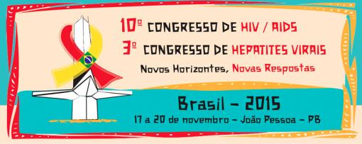 Congresso HIV/AIDS & Hepatites Virais  João Pessoa 2015