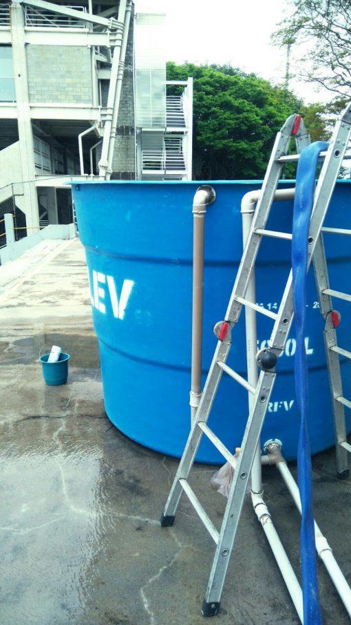 Caixa d'água - Quando você limpou a sua?