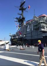 Odontologia no USS Midway - Uma viagem no tempo