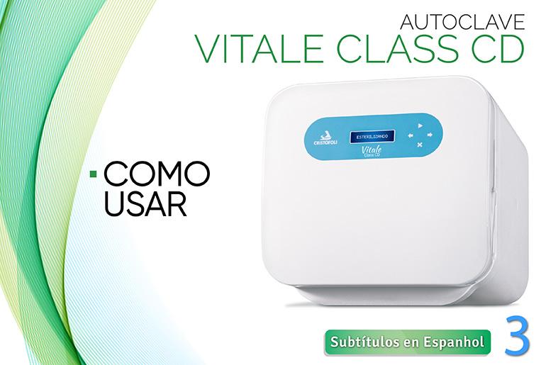 C mo utilizar el autoclave vitale class cd en video blog bioseguridad crist foli - Autoclave classe 3 ...
