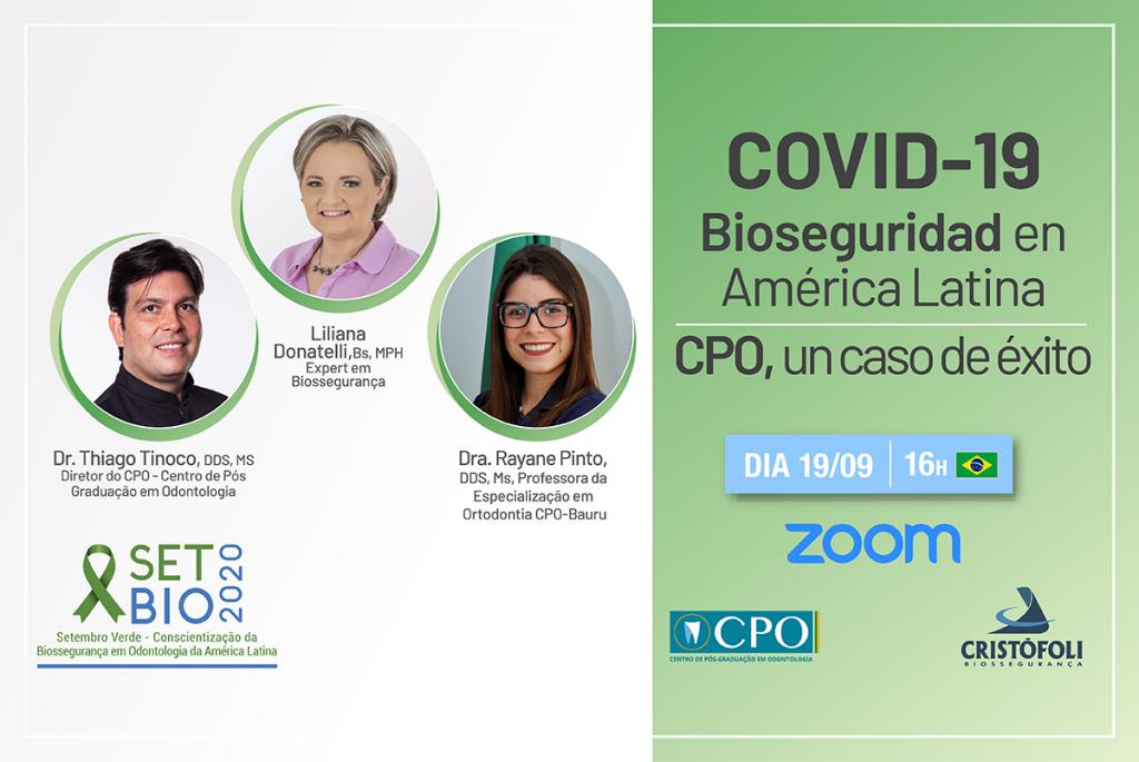 COVID-19 Bioseguridad en la Odontología en América Latina CPO un caso de éxito