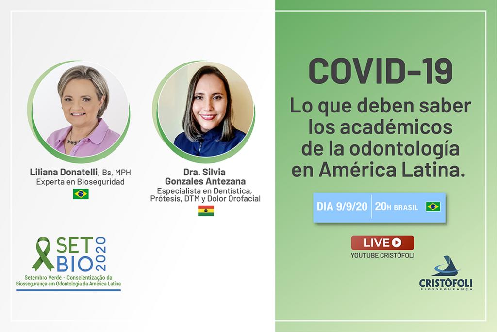 SETBIO 2020 COVID 19 Lo que deben saber los académicos de la odontología en América Latina