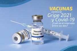 Vacunas contra la gripe 2021 y Covid-19